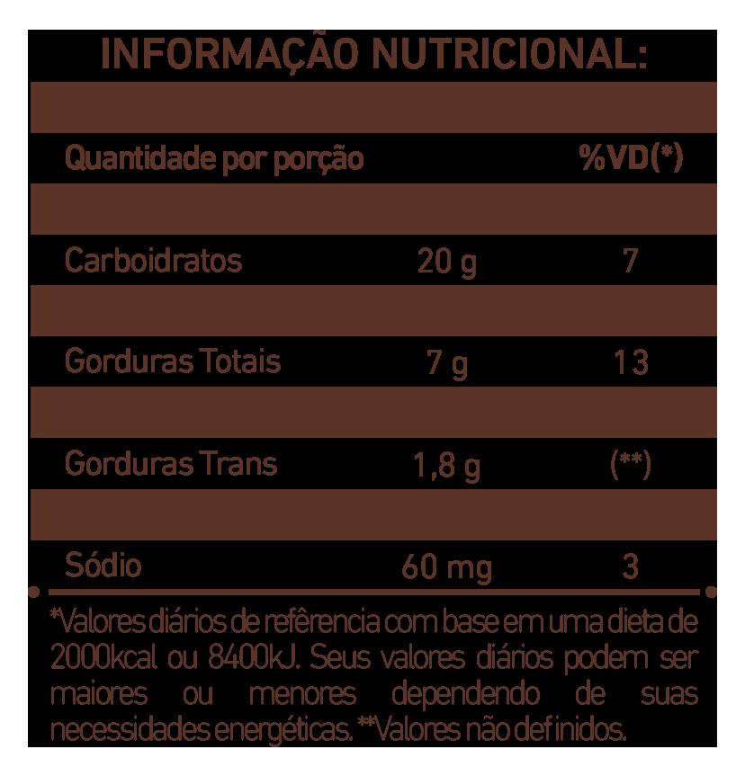 Biscoito de Chocolate Granulado
